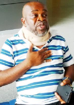 nollywood actor injured uyo church
