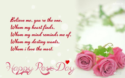 Happy Rose Day Greetings for Girlfriend
