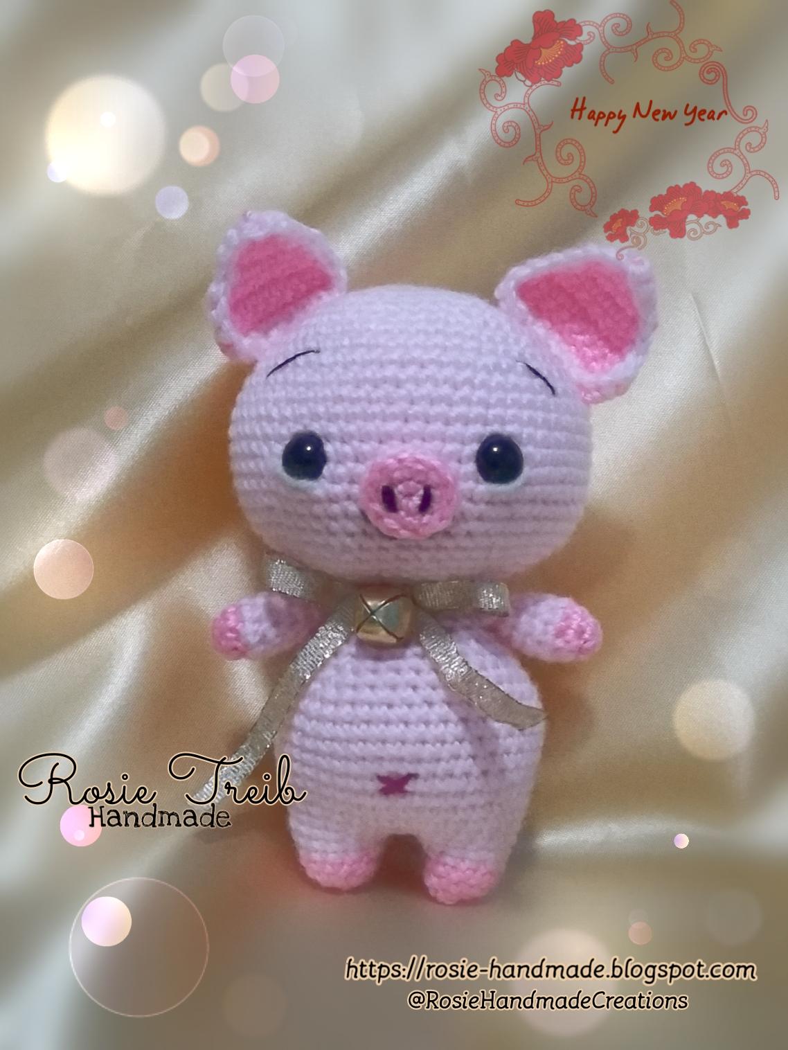 Lucky Pig amigurumi pattern - Amigurumi Today | 1516x1138