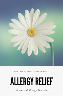 4 Natural Allergy Relief Tips #naturalremedies #TMMW