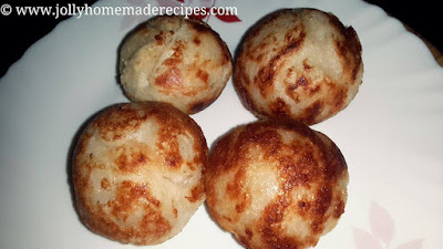 Oil Free Bread Rolls in Appe Pan