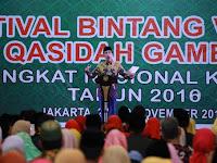 Presiden Jokowi Tutup Festival Bintang Vokalis Qasidah