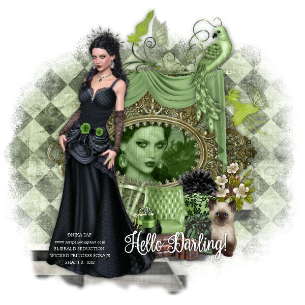 Shani Emerald: Wicked Princess Scraps