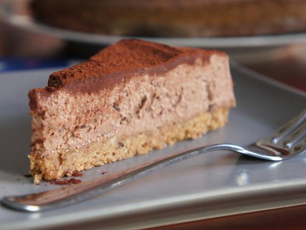 REZEPT: glutenfreier Schoko-Käsekuchen (ohne Backen)