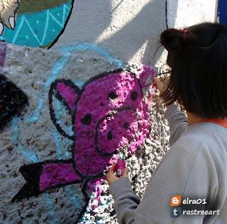 recuperacion de espacios publicos con arte