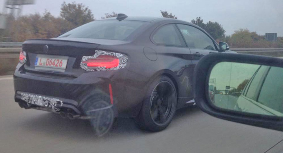Facelifted BMW M2 Spied In Germany, Powered By M4 Engine?