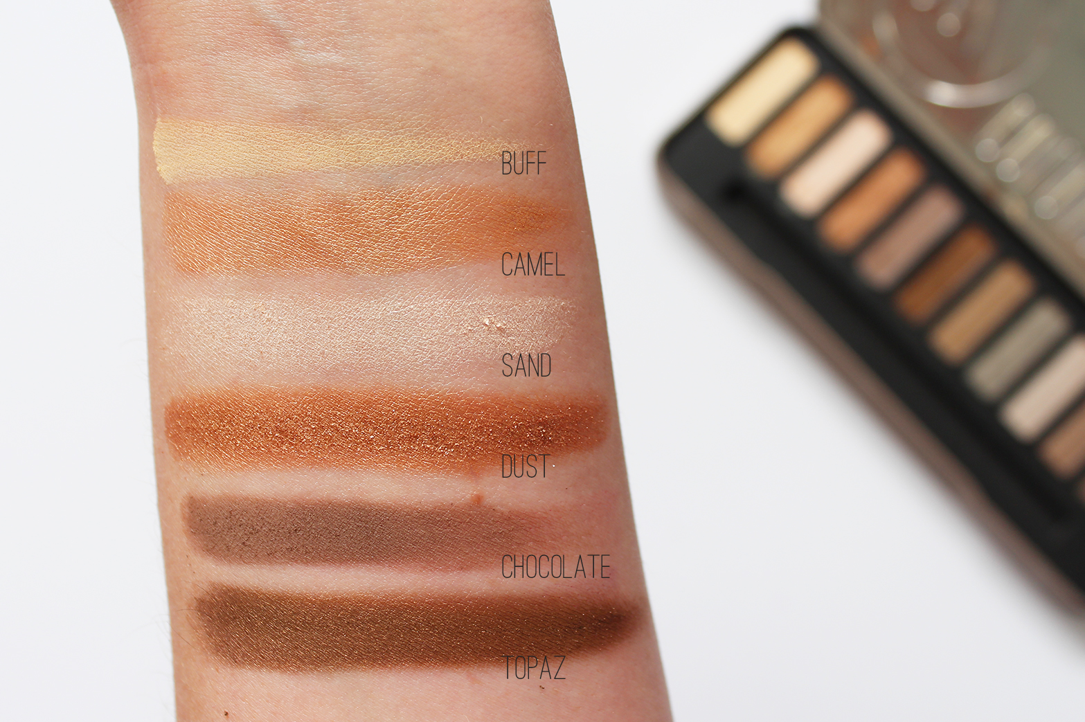 W7 | Colour Me Buff Natural Eyeshadow Palette - Review + Swatches - CassandraMyee