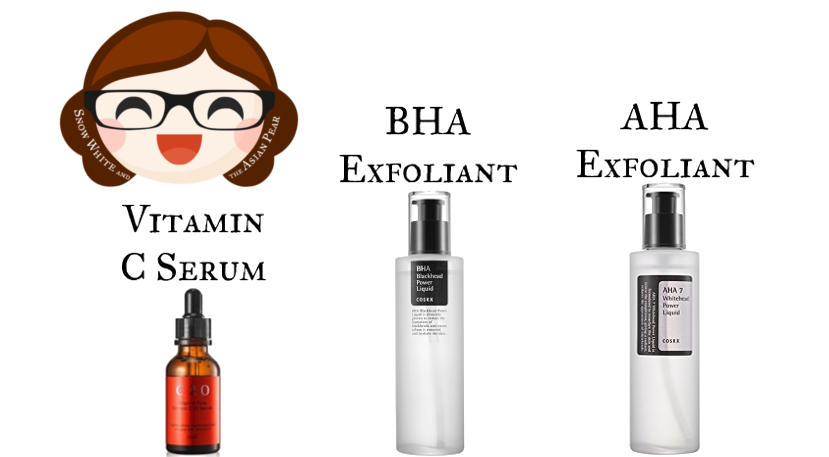 Korean anti-acne and anti-aging products