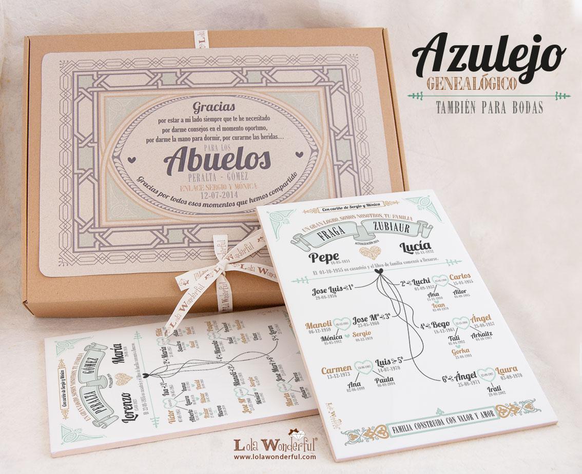 Lola wonderful regalos personalizados y dise o para - Cosas que preparar para una boda ...