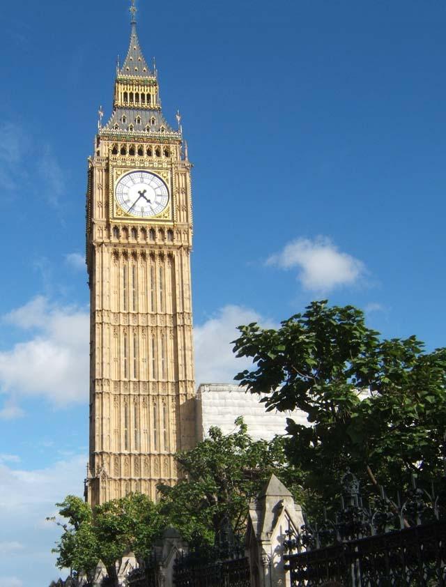 El Big Ben, icono de Londres