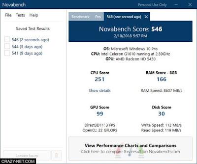 افضل برامج قياس سرعة الهارد ديسك HDD و SSD لويندوز و ماك