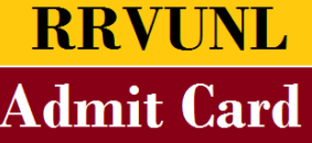 RVUNL Admit Card