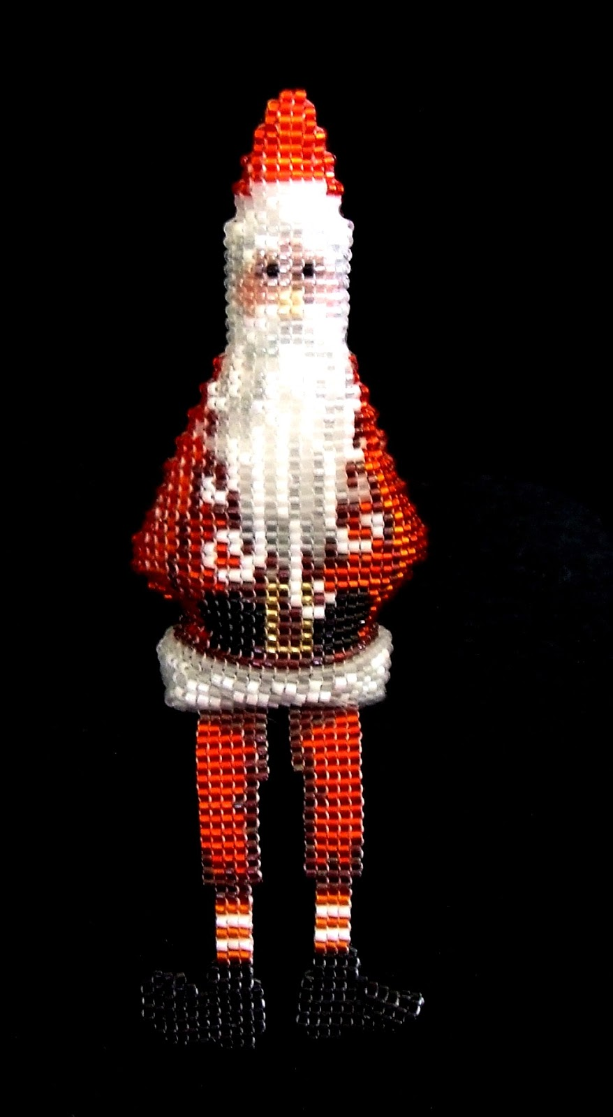 Beading Belle S Beaded Mantle Christmas Ornaments