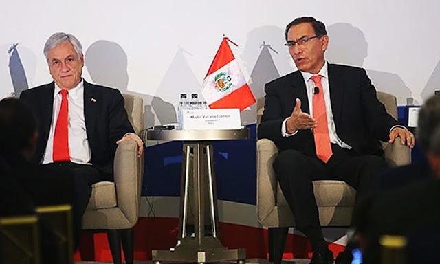 Presidentes Vizcarra y Piñera encabezarán Gabinete Binacional
