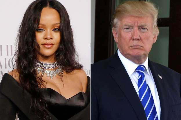 Rihanna confronts Trump about Puerto Rico: 'Don't let your people die like this'