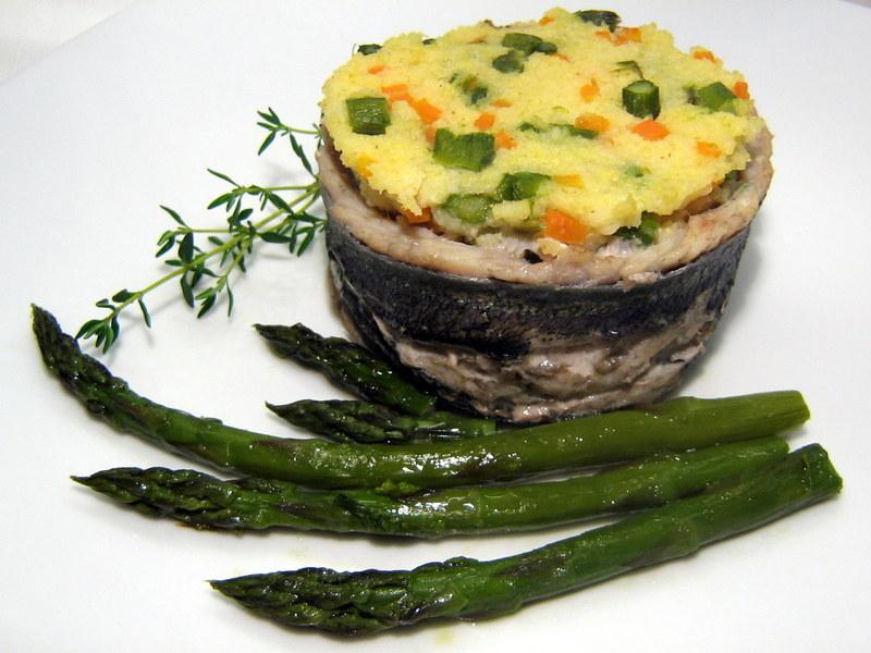 Bruchina in cucina anello di pesce con miglio e verdure for Cucinare miglio