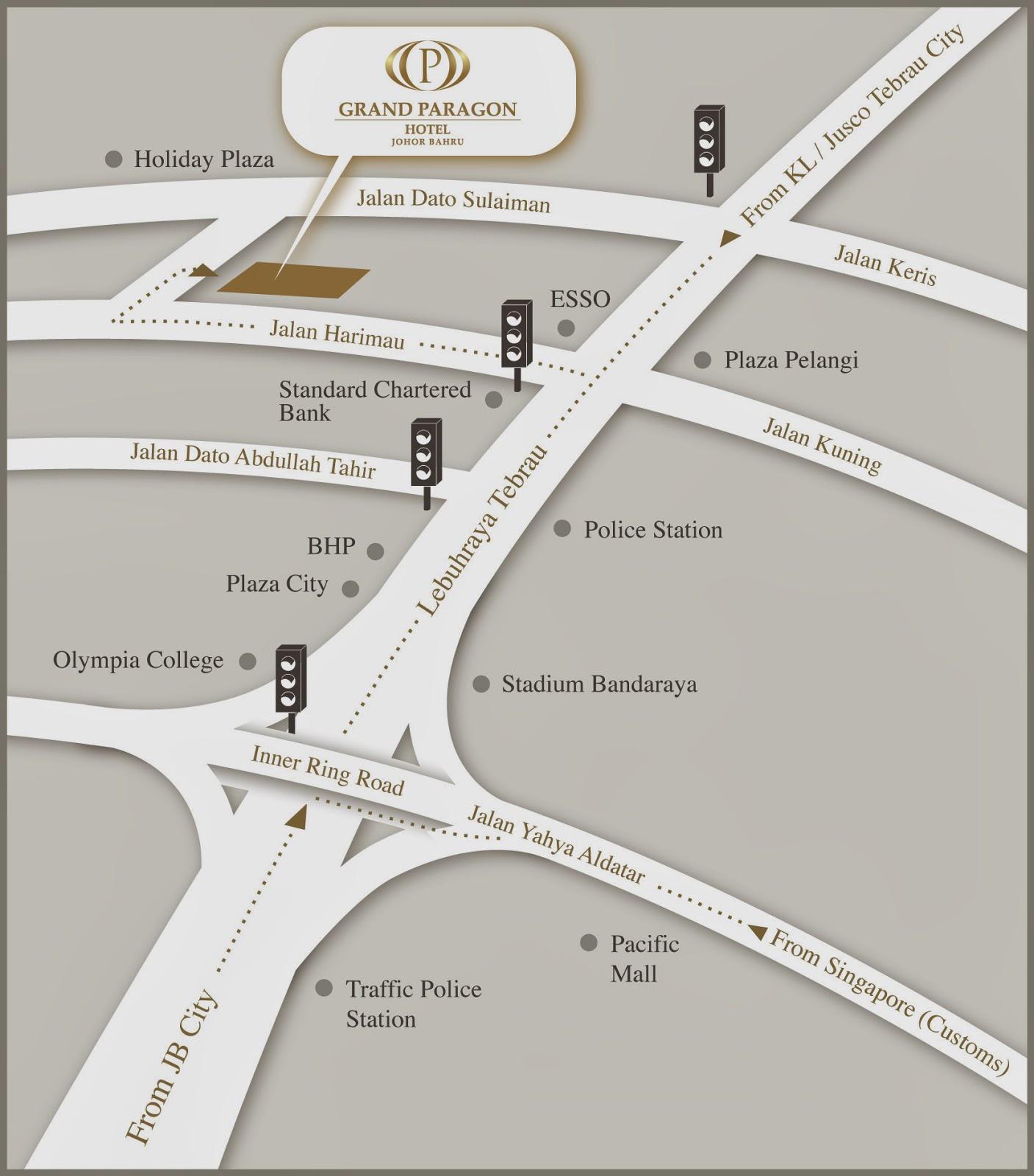 jalan kuning plaza pelangi