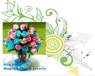 Bunga Mawar Biru Flower Online Magnum Florist Jakarta Indonesia