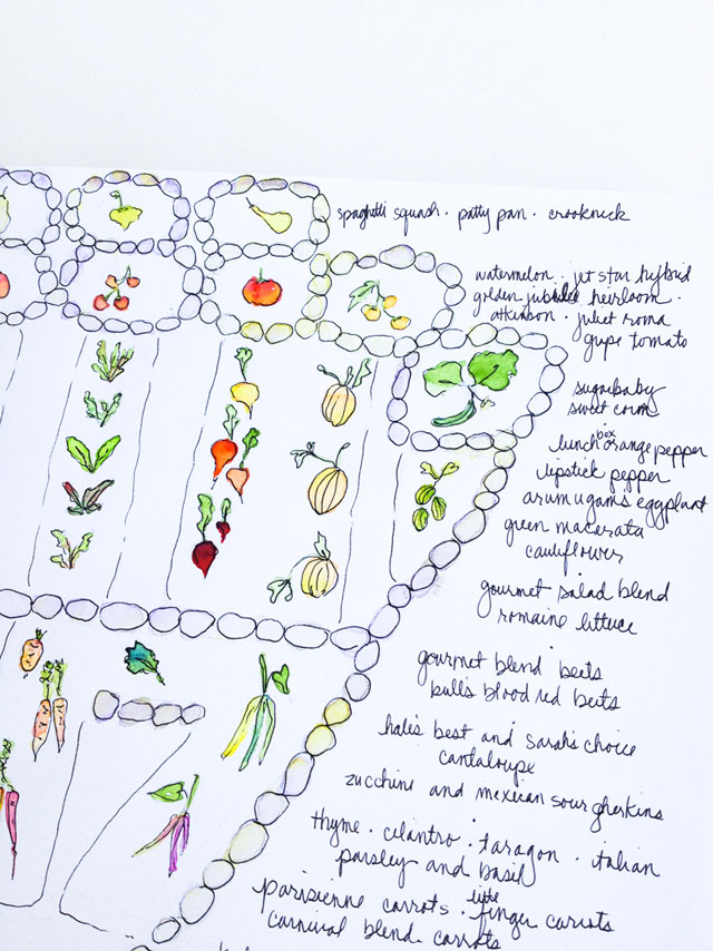 Garden Journaling with Watercolor
