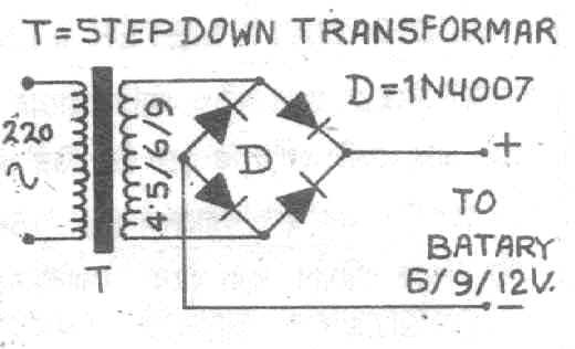 mouse circuit diagram