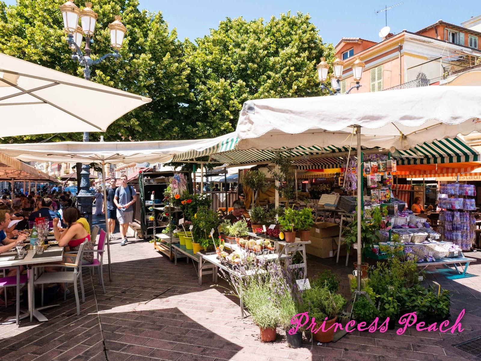 薩蕾亞林蔭傳統市場-Cours-Saleya-Marche