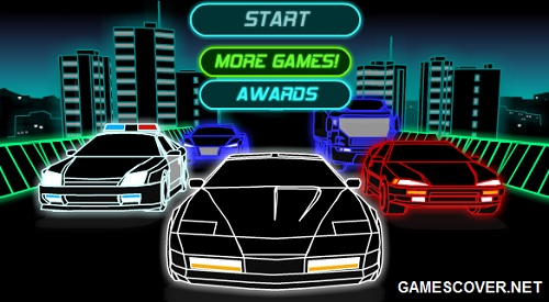 Play Neon Race 2 Game   Online Car Racing Game
