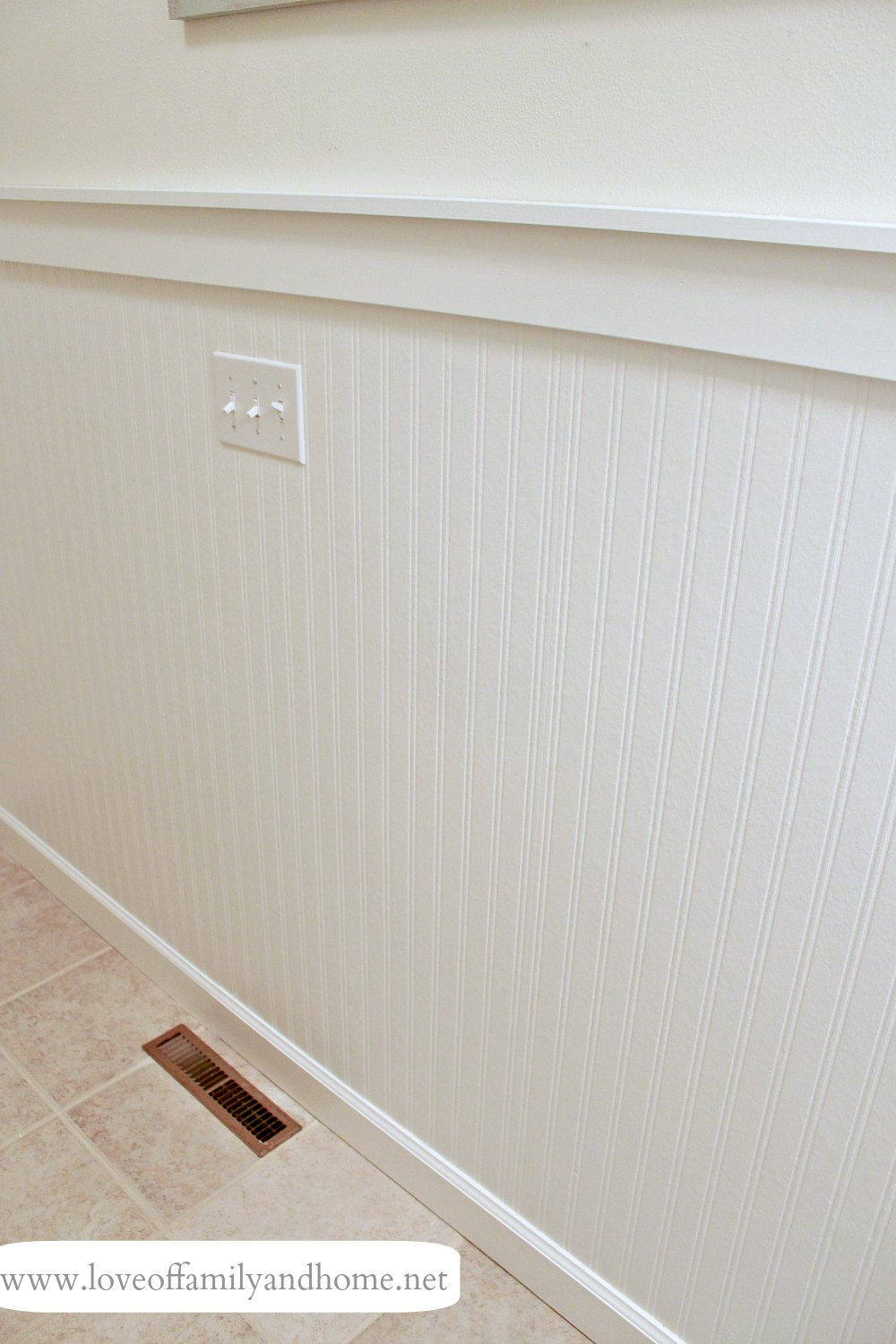 Hallway Bathroom Makeover Reveal Love Of Family Amp Home