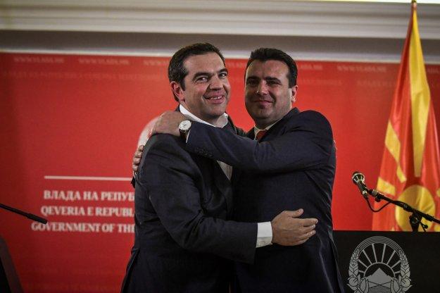 FAZ: Οι πολιτικές περιπέτειες Αθήνας - Σκοπίων δεν έχουν ακόμη παρέλθει