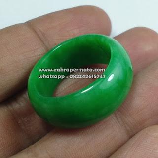 Cincin Giok Jadeite Jade Burma - ZP 1086