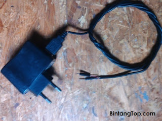 Modifikasi kabel USB bekas & Adaptor USB utk Power Supply
