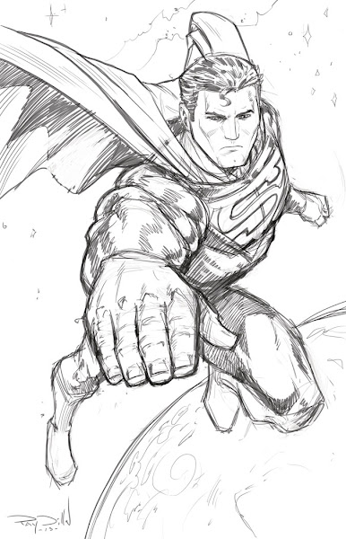 Superman Man Of Steel Coloring Pages