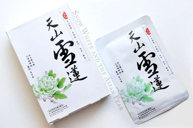 Lovemore Snow Lotus Silk Mask