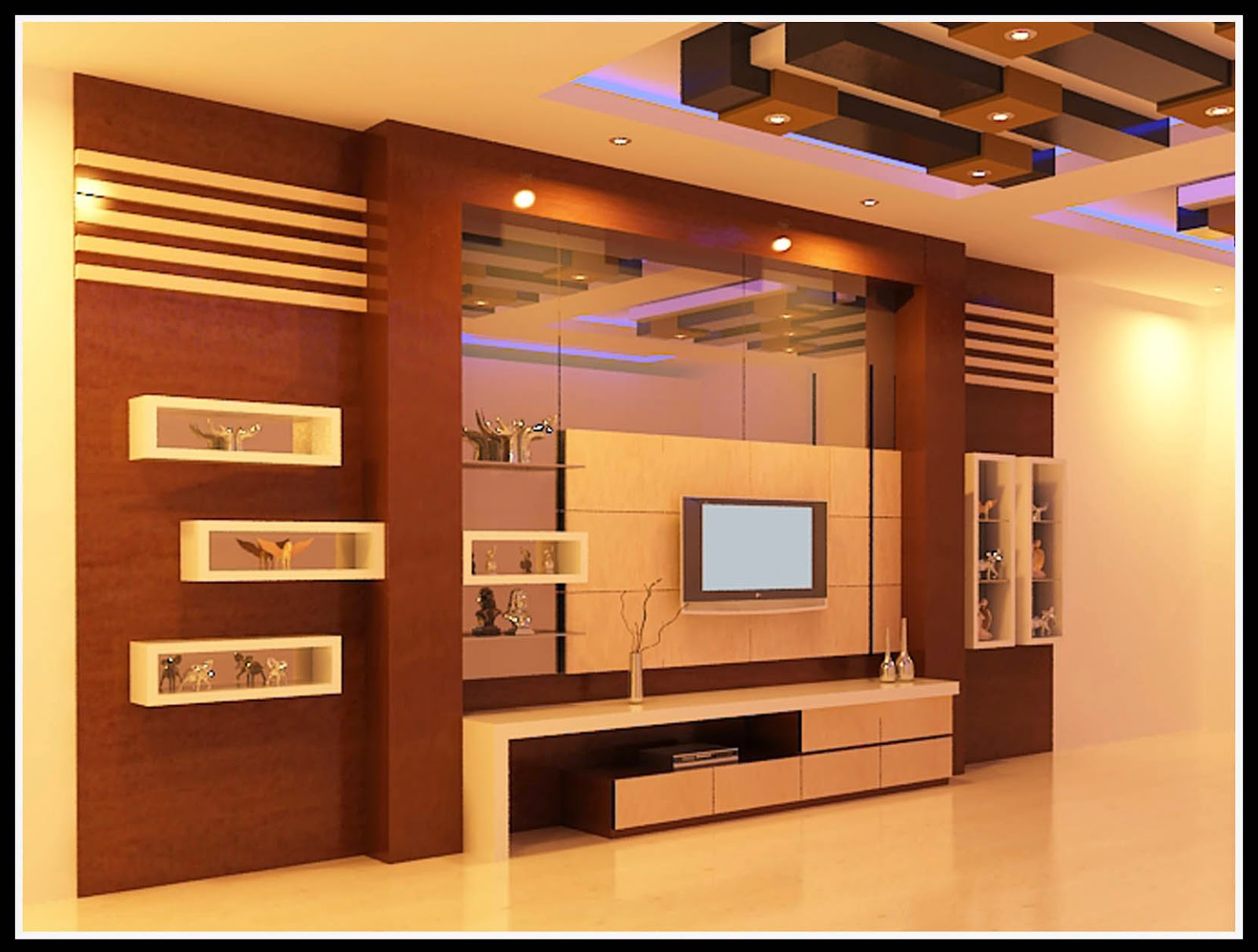 Interiorsamarinda: Backdrop TV Minimalis