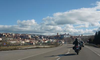 La entrada a Teruel