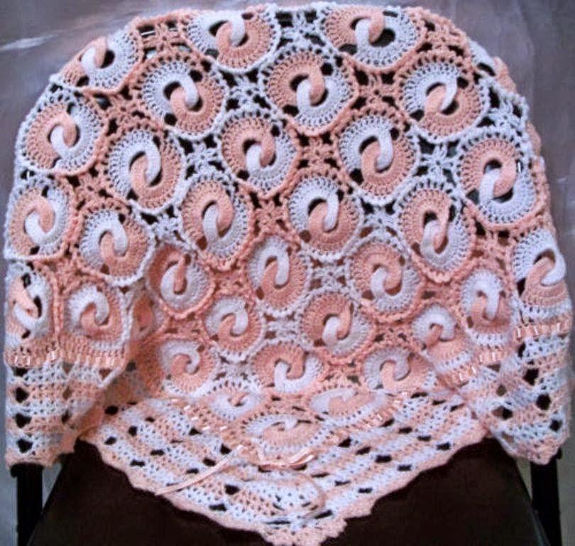 Örgü Halkalı Bebek Battaniyesi Yapımı