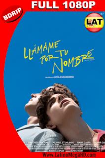 Llámame por tu Nombre (2017) Latino FULL HD BDRIP 1080P - 2017