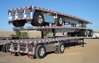 Rakit lowbed truk