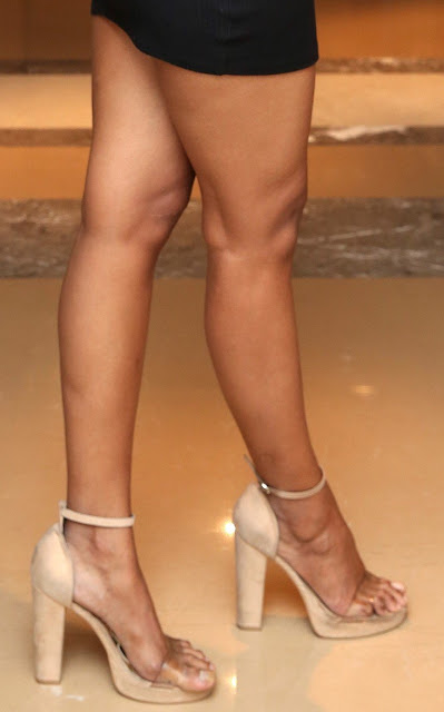 Debbie hot butt sexy ass in mini skirt naked waxed leg clean shaved