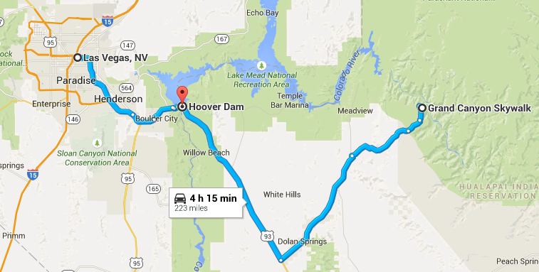 las vegas to hoover dam to grand canyon map Dis Dat Dee Udder Summer Road Trip Day 14 Grand Canyon las vegas to hoover dam to grand canyon map