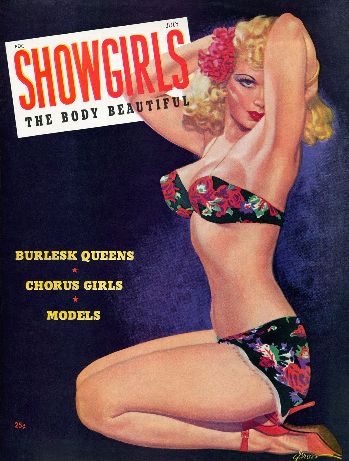 SHOWGIRLS MAGAZINE
