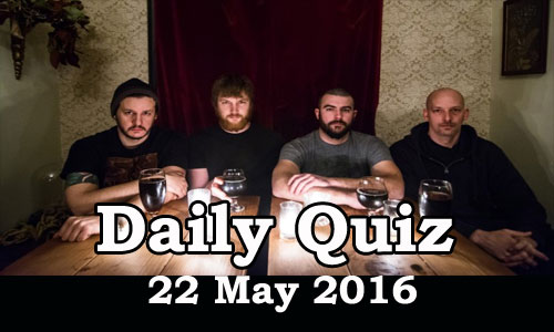 Daily Current Affairs Quiz - 22 May 2016