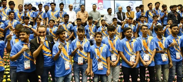 IndiaSkills 2018 Country's biggest Skill Competition, Concludes