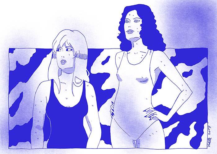 Cómic, Bloody summer de Violeta Latorre Gil
