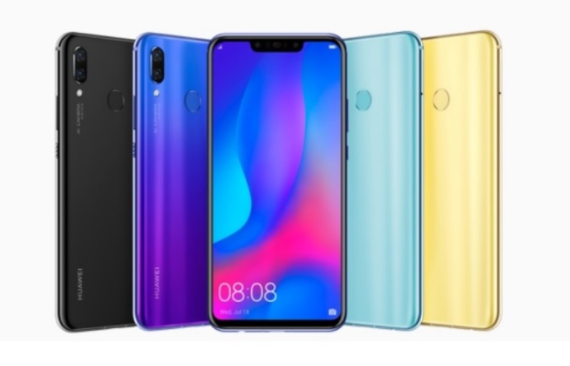 Huawei Nova 3 Launched; Kirin 970, 6GB RAM, 128GB ROM, and A.I. Cameras