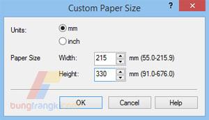 Cara Print Kertas F4 di Canon Agar tidak Terpotong
