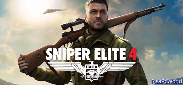 Sniper Elite 4 poster