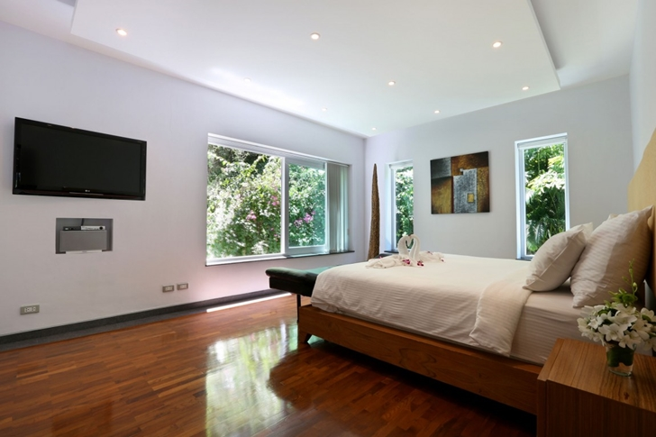 Bedroom in Modern Villa Beyond in Phuket