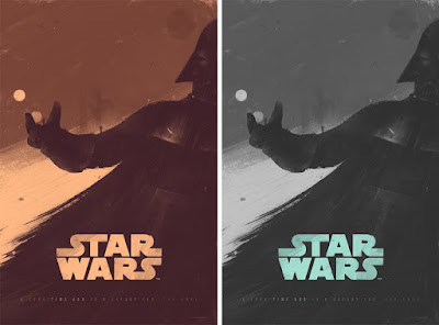 "Star Wars ""You Were Right About Me"" Screen Print by Patrik Svensson x Bottleneck Gallery"