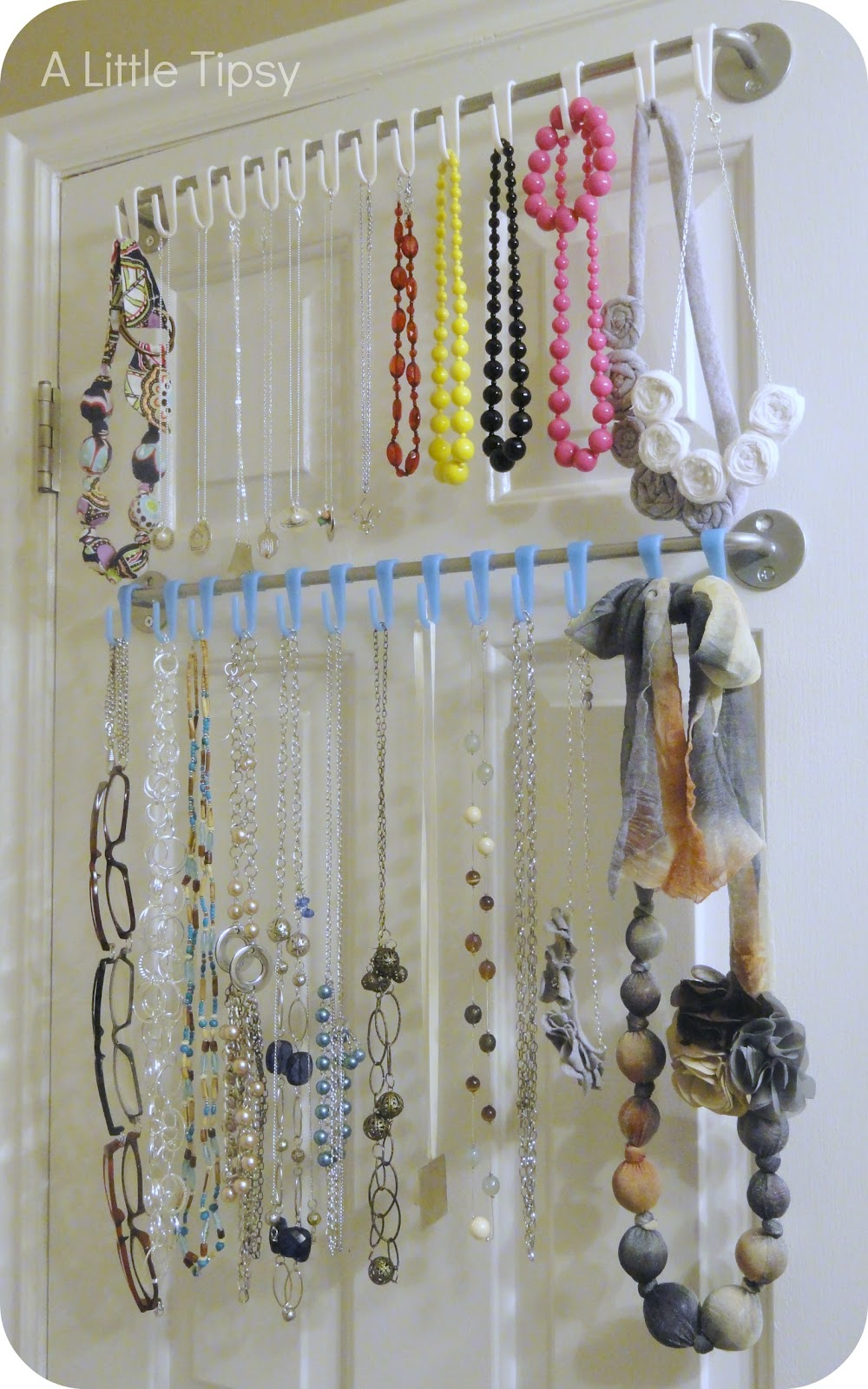 DIY Jewelry Organizer - A Little Tipsy