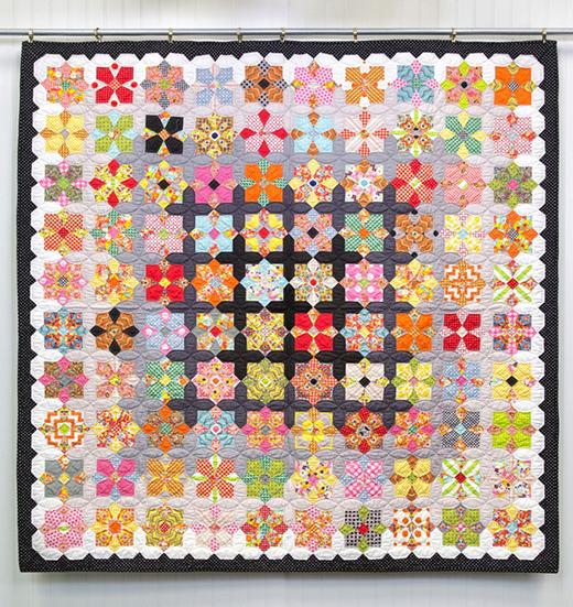 Quatro Colour Quilt Free Tutorial designed by Jenny Doan & Sue Daley of Missouri Quilt Co